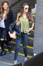 MICHELLE KEEGAN Leaves a Studio in London 05/05/2015