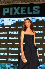 MICHELLE MONAGHAN at Pixels Photocall in Cancun