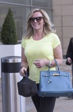 MICHELLE MONE Out and About in Manchester 06/04/2015