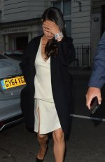 MILA KUNIS at Chutney Mary Indian Restaurant in London 06/23/2015