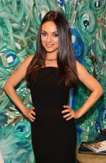 MILA KUNIS at Faberge Cocktail Reception at Masterpiece London at Royal Hospital Chelsea
