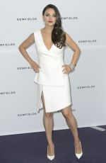 MILA KUNIS at Gemfields Photocall in London