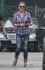 MILA KUNIS in Jeans Out in Los Angeles 06/15/2015