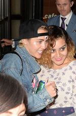 MILEY CYRUS Leaves La Esquina Restaurant in New York06/19/2015
