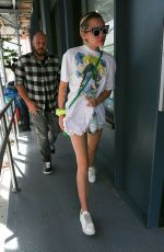 MILEY CYRUS Out and About in New York 06/19/2015