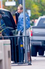 MILEY CYRUS Out for Lunch in Los Angeles 06/09/2015