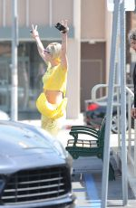 MILY CYRUS Out and About in Los Angeles 06/01/2015
