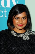 MINDY KALING at The Mindy Project Special Panel in Los Angeles
