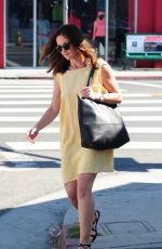 MINKA KELLY Out and About in Los Angeles 06/18/2015