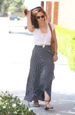 MINKA KELLY Out and About in Wwest Hollywood 06/17/2015