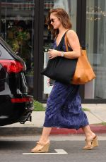 MINKA KELLY Shopping at Whole Foods in Los Angeles 06/10/2015