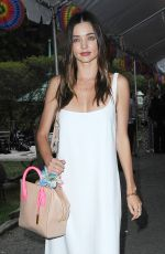 MIRANDA KERR Out and About in Soho 06/08/2015