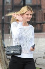 MISCHA BARTON Out and About in Soho 06/29/2015