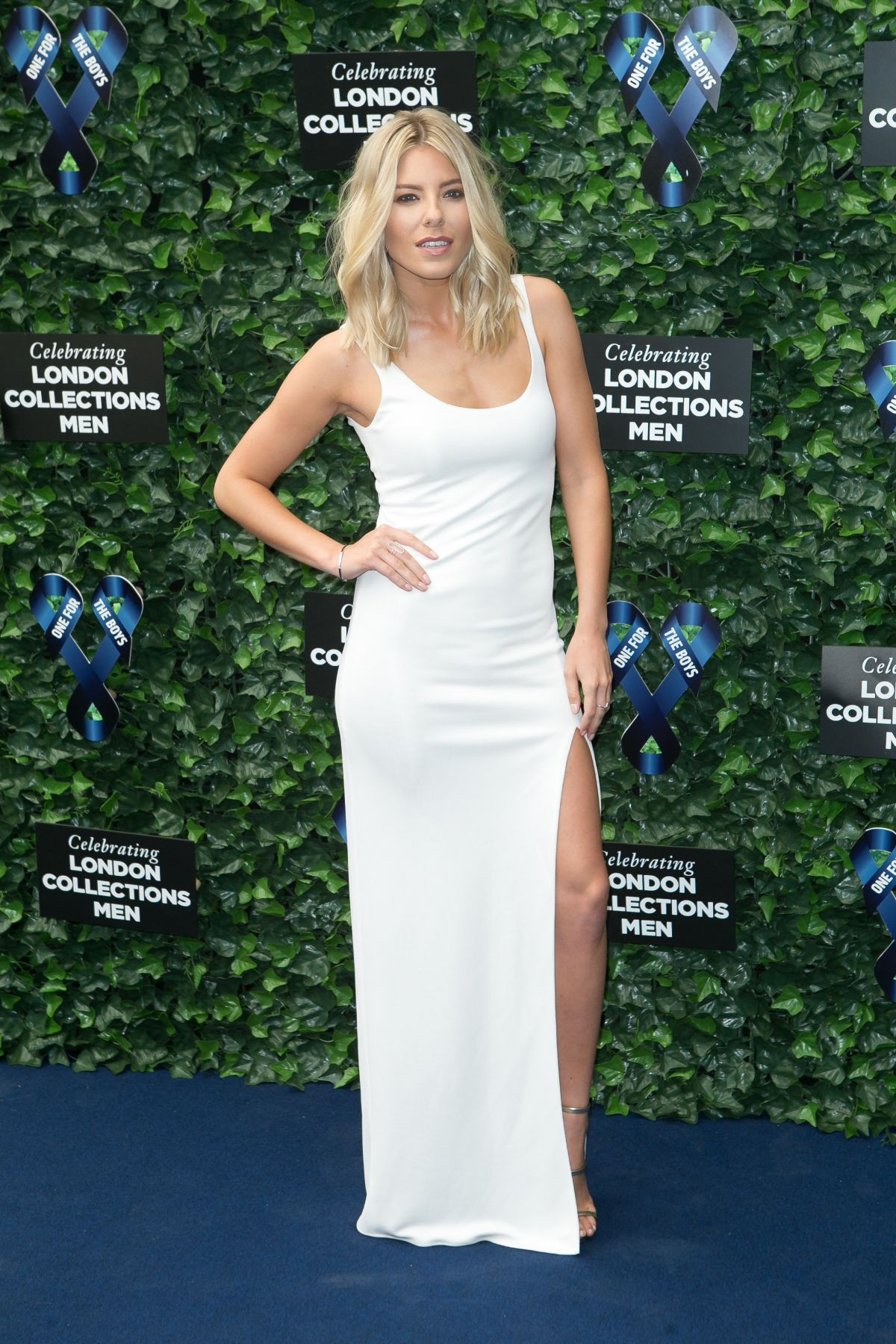 MOLLIE KING at One For the Boys Fashion Ball in London
