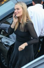 MOLLY SIMS Arrives at a Private Party at Brentwood Country Mart 06/11/2015