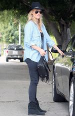 MOLLY SIMS Out and About in Los Angeles 06/13/2015