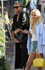 MORGAN STEWART Leaves The Ivy in Los Angeles 06/18/2015