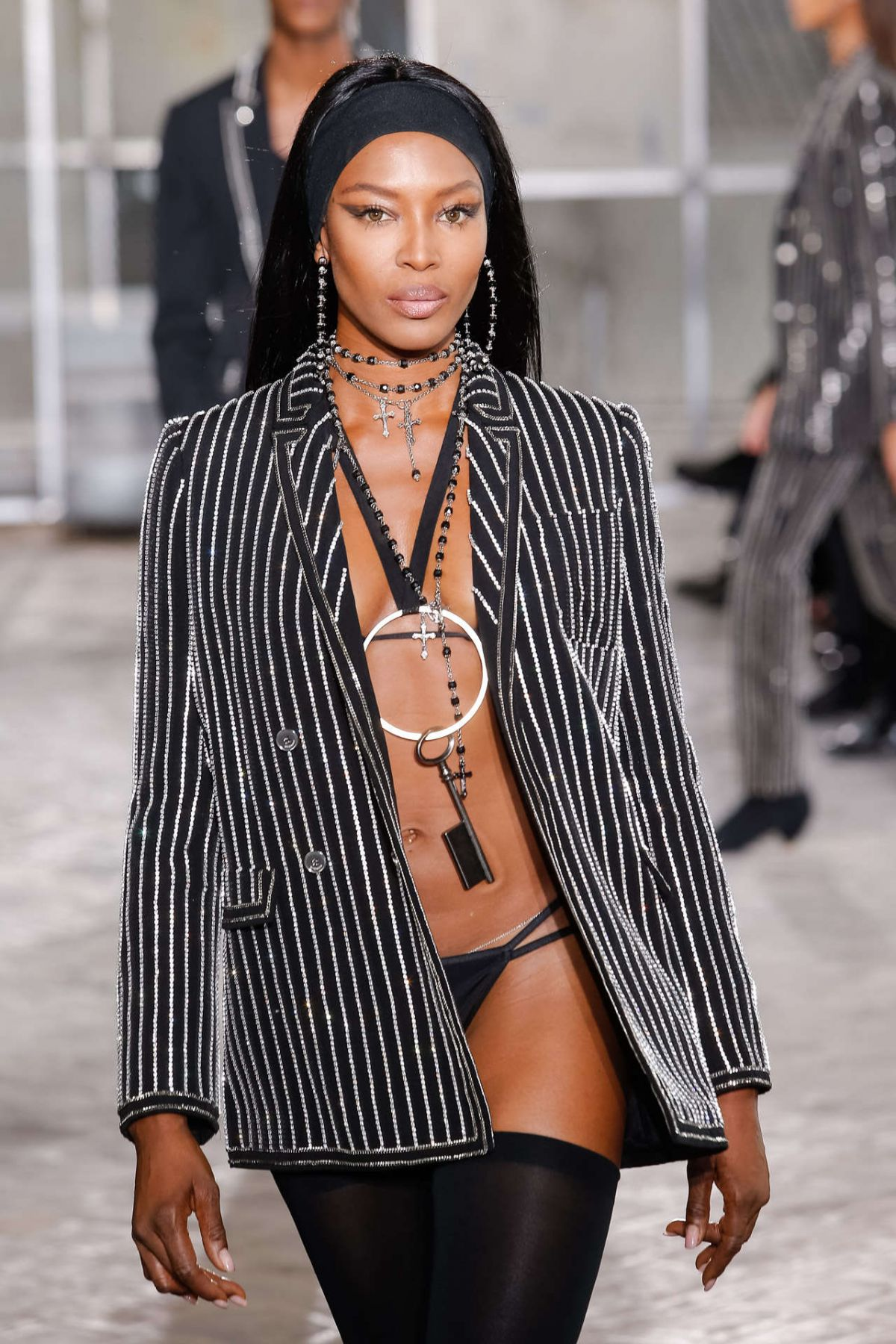 Naomi Campbell On The Runway Of Givenchy Fashion Show In Paris 5 Hawtcelebs