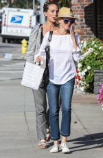 NAOMI WATTS Out and About in Brentwood 06/17/2015