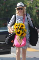 NAOMI WATTS Out and About in Brentwood 06/21/2015