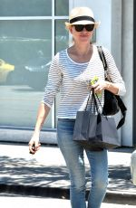 NAOMI WATTS Out and About in West Hollywood 06/08/2015