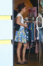 NATALIE PORTMAN Out Shopping in Los Angeles 06/29/2015