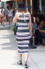 NICKY HILTON Out and About in New York 06/12/2015