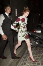 NICOLA ROBERTS Arrives at Chiltern Firehouse in London