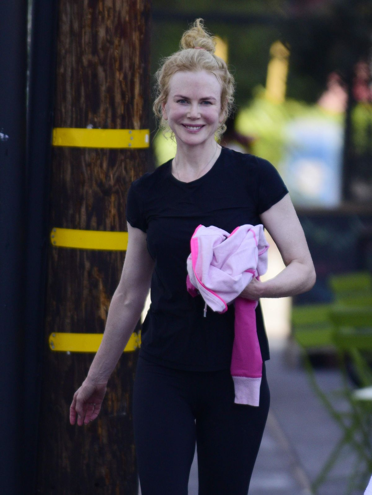Nicole Kidman At An Early Morning Spin Cl On Her 48th Birthday In Los Angeles