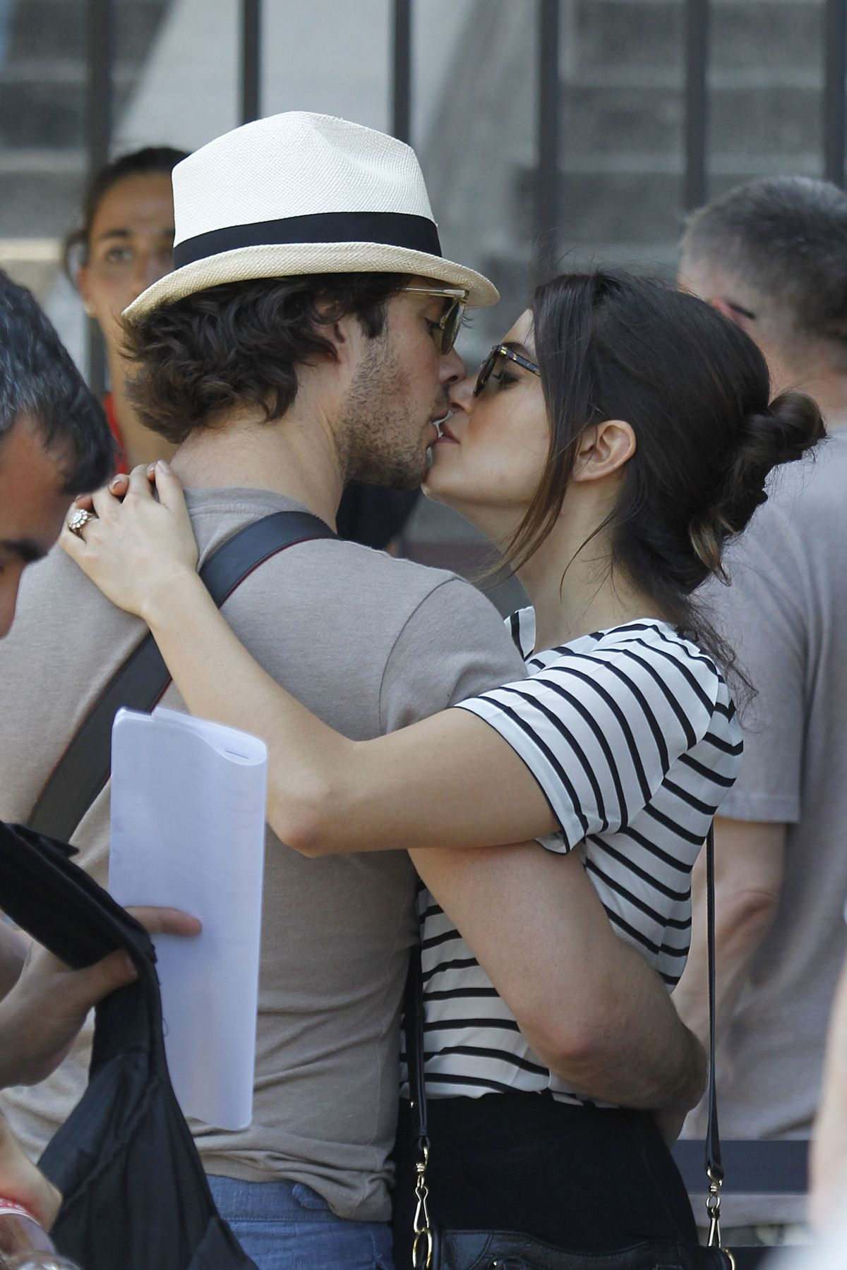 NIKKI REED and Iam Somerhalder Out and About in Barcelona 06/04/2015
