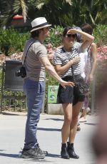 NIKKI REED and Ian Somerhalder Out in Miami Beach