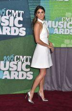 NIKKI REED at 2015 CMT Music Awards in Nashville