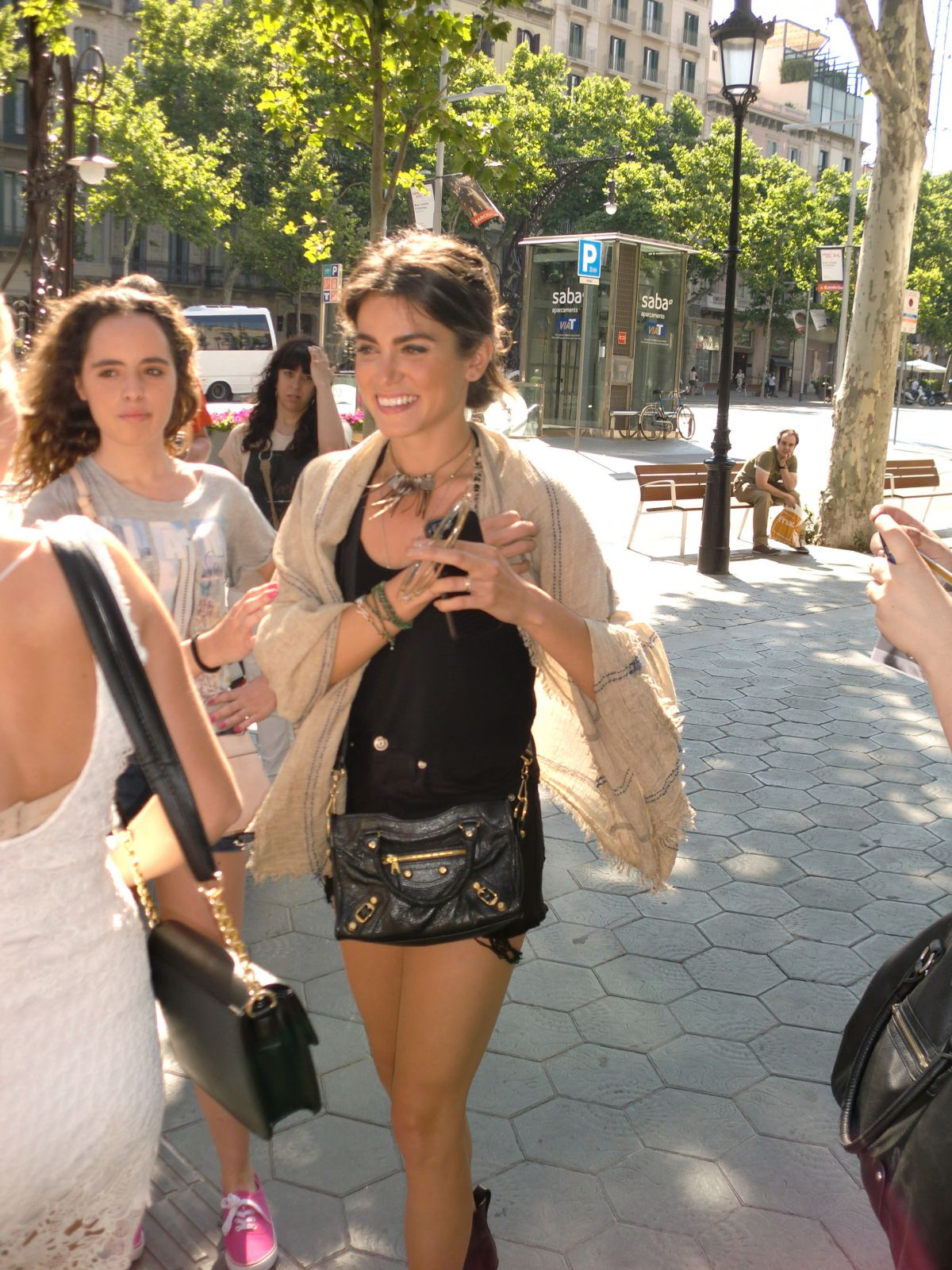 NIKKI REED Out and About in Barcelona 06/07/2015
