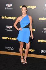 NINA AGDAL at Entourage Premiere in Westwood