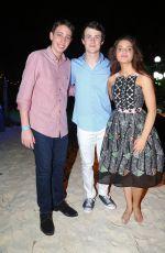 ODEYA RUSH at Goosebumps Photocall in Cancun