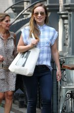 OLIVA WILDE Out for Lunch in New York 06/11/2015
