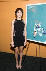 OLIVIA COOKE at Me and Earl and the Dying Girl Premiere in New York