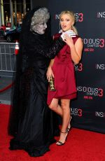 OLIVIA HOLT at Insidious Chapter 3 Premiere in Hollywood