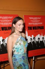 OLIVIA WILDE at The Wolfpack Premiere in New York