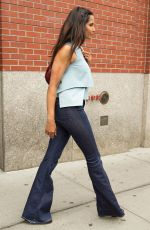 PADMA LAKSHMI Out and About in New York 06/18/2015