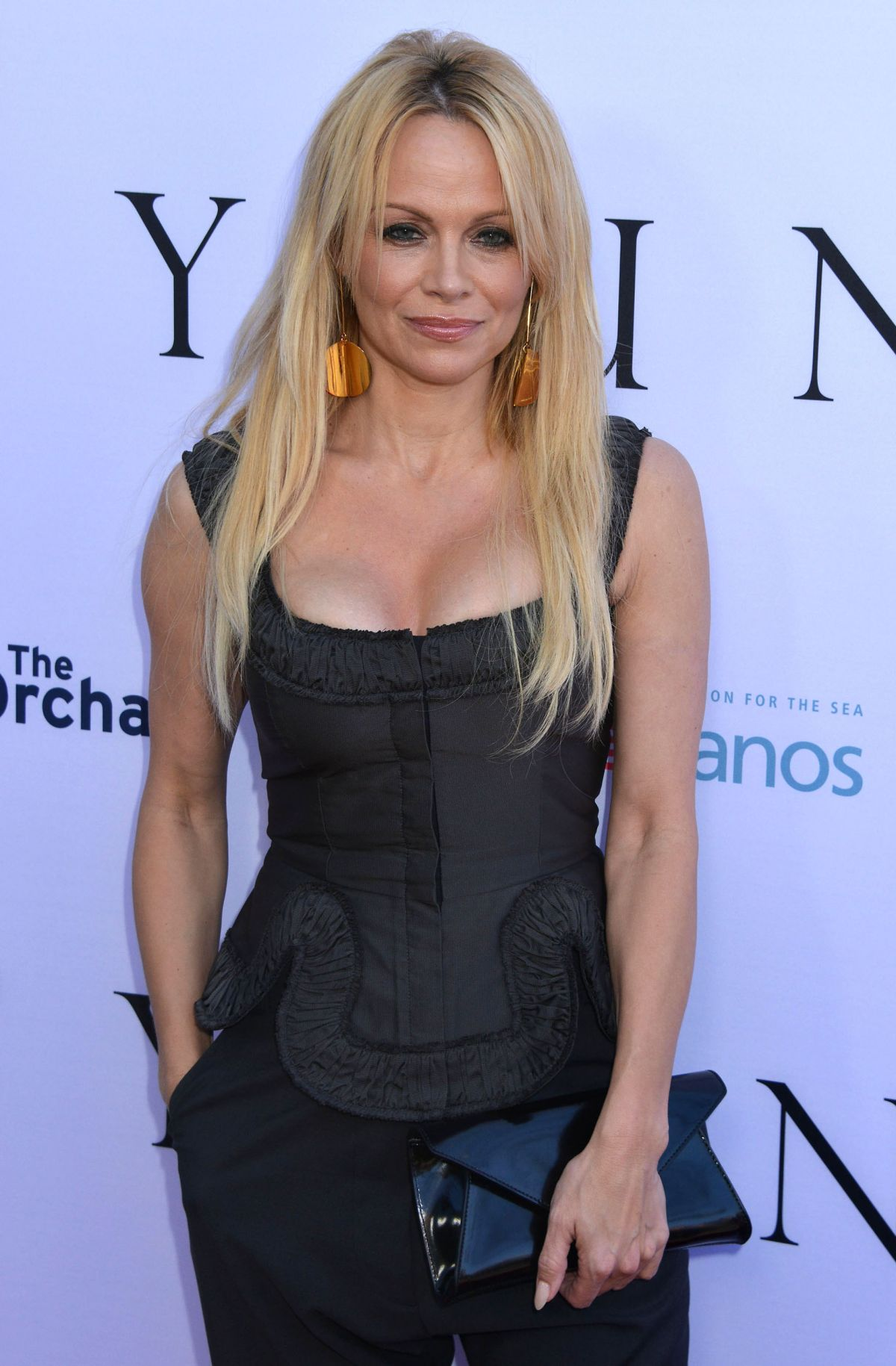 PAMELA ANDERSON at Unity Premiere in Los Angeles - HawtCelebs ...