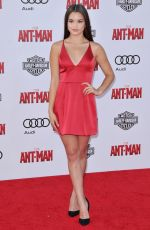 PARIS BERELC at Ant-man Premiere in Hollywood