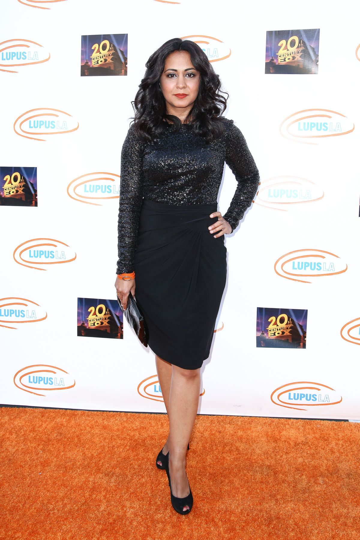 PARMINDER NAGRA at Lupus LA Orange Ball and Night of Superheroes