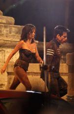 PENELOPE CRUZ in Mud on the Set of Zoolander 2 in Rome 06/26/2015