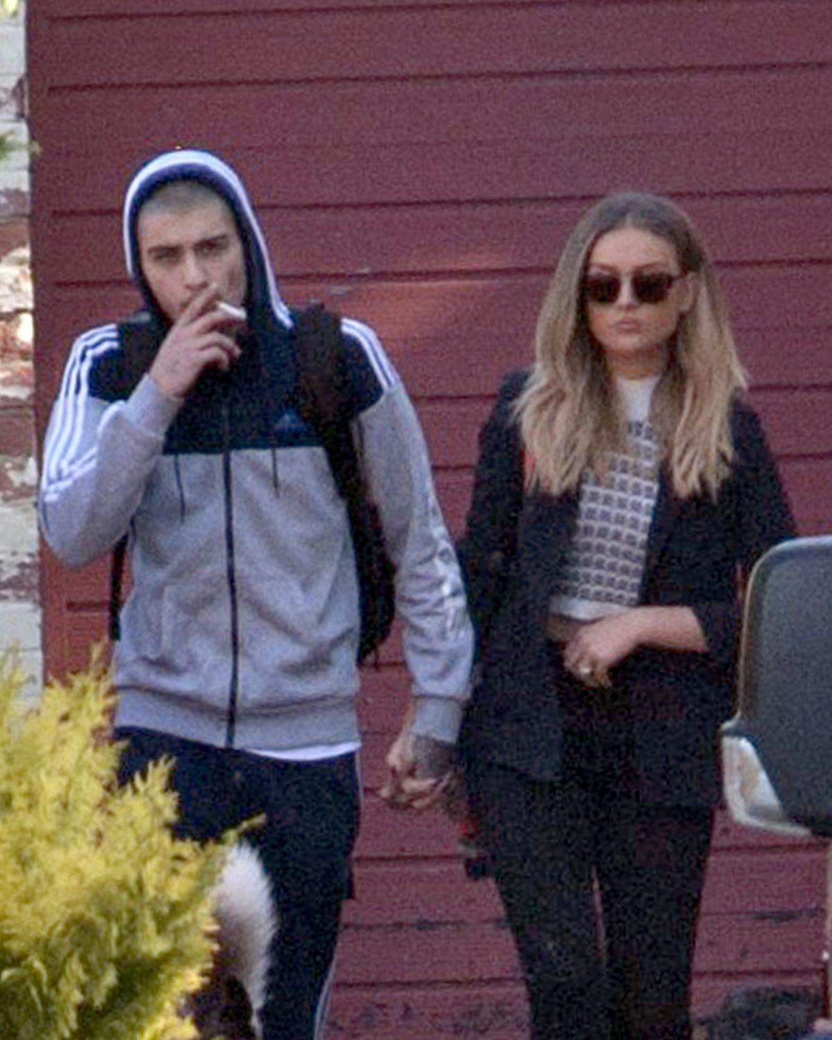 PERRIE EDWARDS Out and About in Newcastle 06/10/2015