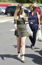 PERRIE EDWARDS Out in Staffordshire