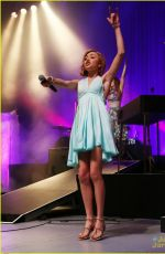 PEYTON LIST Performs at the Greek Theater in Los Angeles