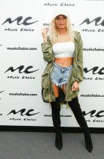 PIA MIA PEREZ at Music Choice in New York