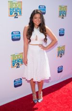 PIPER CURDA at Teen Beach 2 Premiere in Burbank