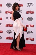 Pregnant EVANGELINE LILLY at Ant-man Premiere in Hollywood